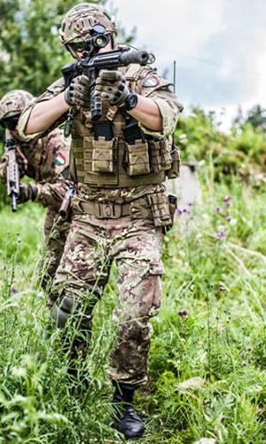 équipements de protection civile et militaire