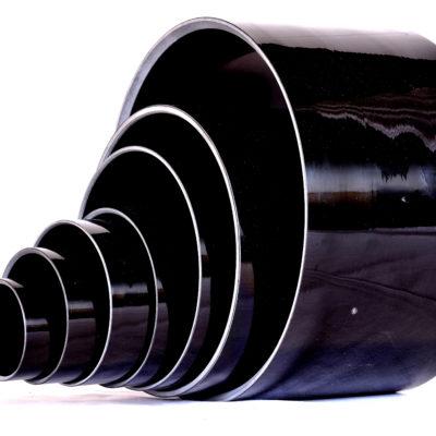 standard glass or carbon fiber epoxy resin composite parts