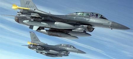 auto-protection d'avion de chasse par système de leurres